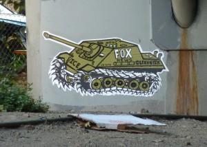 FoxTankGraffitti-1